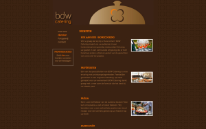 BDW Catering Website