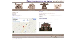 Dierenarts Van Miert website slide