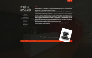 Interius Advocated website slide