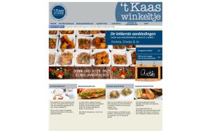 't Kaaswinkeltje website slide